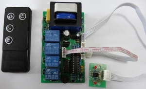 Fireplace control board kit